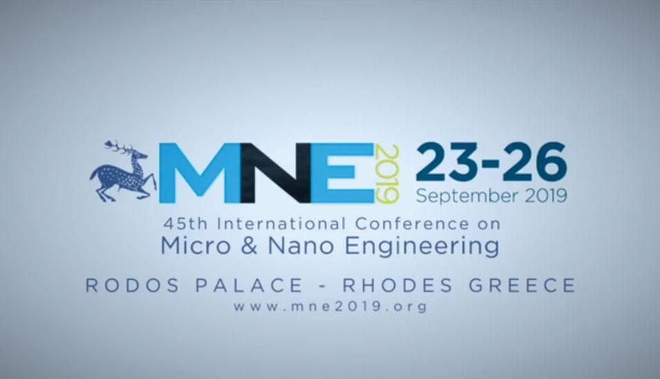 45th International Conference on Micro & Nano Engineering